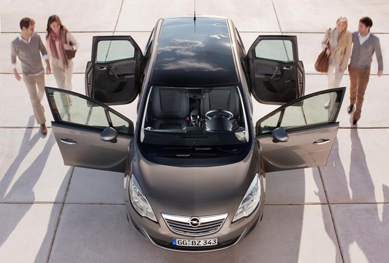 Foto Exteriores Opel Nuevo Meriva Monovolumen 2010