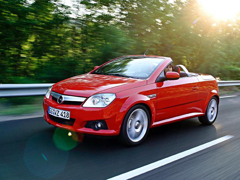 Foto Delantero Opel Tigra Descapotable 2009