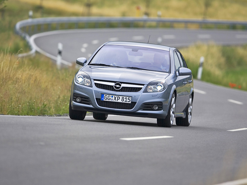 Foto Frontal Opel Vectra Dos Volumenes 2008