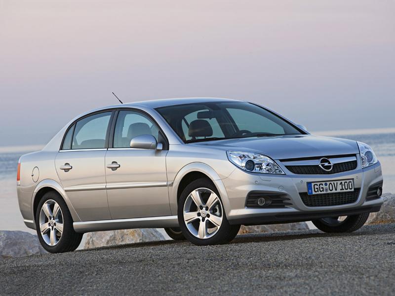 Foto Delantero Opel Vectra Sedan 2008