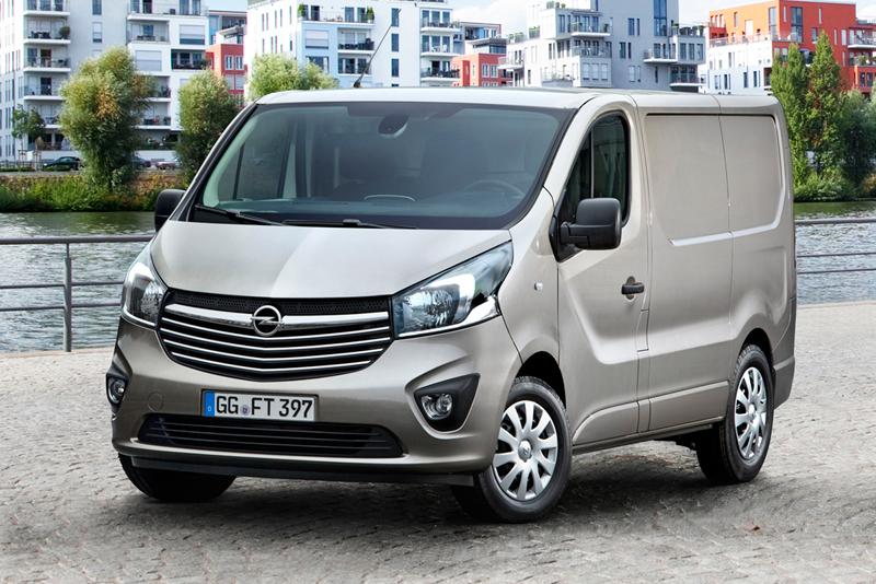 Foto Perfil Opel Vivaro Vehiculo Comercial 2014