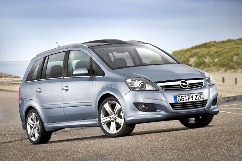 Foto Delantero Opel Zafira Monovolumen 2009