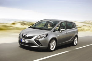 Opel Zafira Tourer, análisis plazas delanteras
