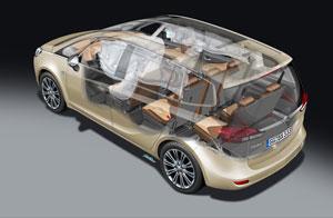 Foto Tecnicas (6) Opel Zafira-tourer Monovolumen 2011