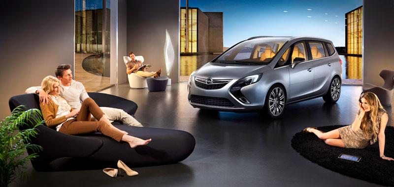 Foto Exteriores (1) Opel Zafira-tourer Monovolumen 2011