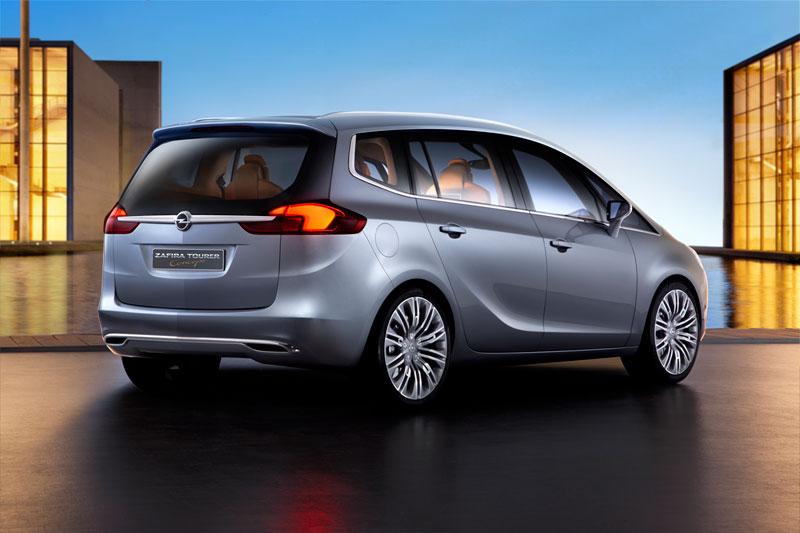 Foto Exteriores (3) Opel Zafira-tourer Monovolumen 2011