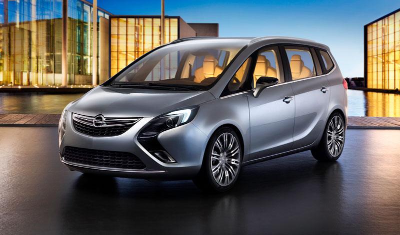Foto Exteriores (4) Opel Zafira-tourer Monovolumen 2011