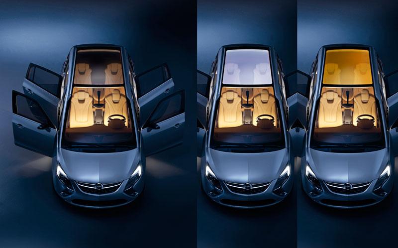 Foto Exteriores (7) Opel Zafira-tourer Monovolumen 2011