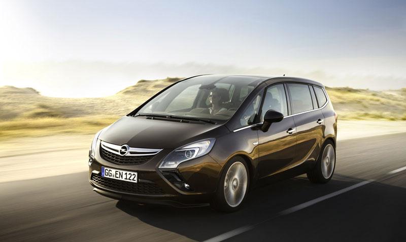 Foto Exteriores (8) Opel Zafira-tourer Monovolumen 2011