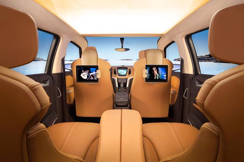 Foto Interiores (5) Opel Zafira-tourer Monovolumen 2011