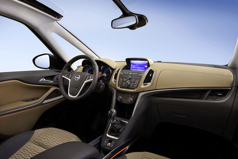 Foto Interiores (6) Opel Zafira-tourer Monovolumen 2011