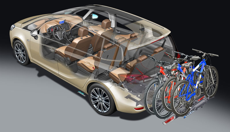 Foto Tecnicas (8) Opel Zafira-tourer Monovolumen 2011