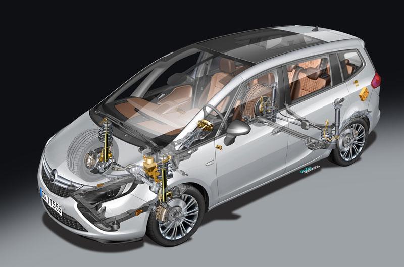 Foto Tecnicas (9) Opel Zafira-tourer Monovolumen 2011
