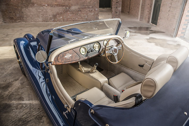 Interior Morgan 4/4 80th Anniversary