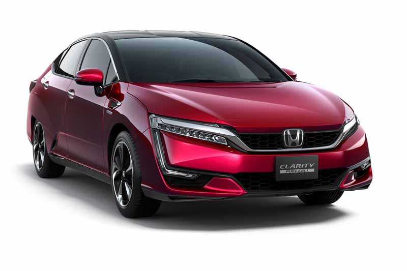 Honda Clarity Fuel Cell 2017; vista delantera