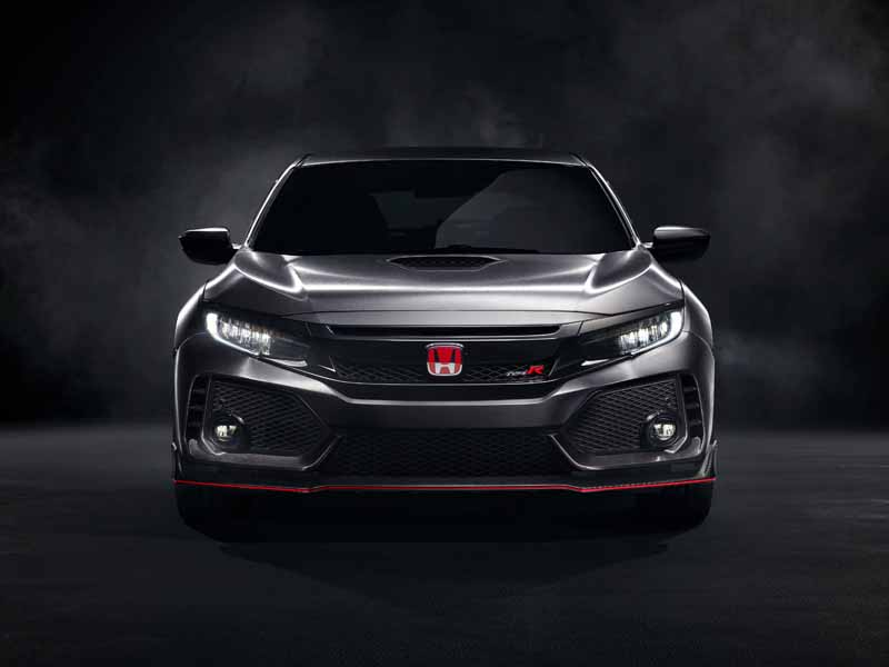 Honda Civic Type R 2017, vista frontal
