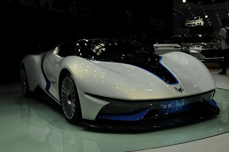 BAIC Campos Racing deportivo eléctrico