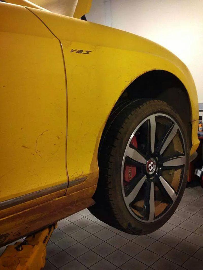 Bentley estropeado en Top Gear
