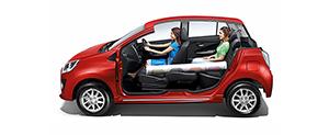 Foto Interiores (4) Perodua Axia Dos Volumenes 2015