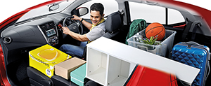 Foto Interiores (5) Perodua Axia Dos Volumenes 2015