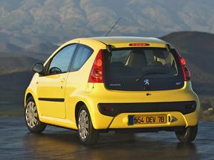 Foto Trasero Peugeot 107 Dos Volumenes 2006
