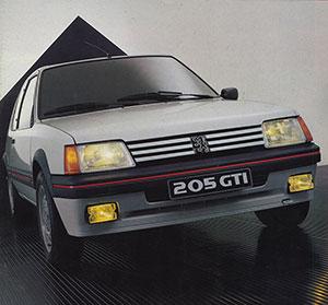 Foto Exteriores (1) Peugeot 205-gti Dos Volumenes 1984