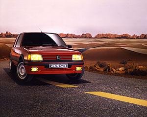 Foto Exteriores (2) Peugeot 205-gti Dos Volumenes 1984