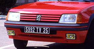 Foto Exteriores (4) Peugeot 205-gti Dos Volumenes 1984