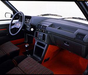 Foto Salpicadero Peugeot 205-gti Dos Volumenes 1984