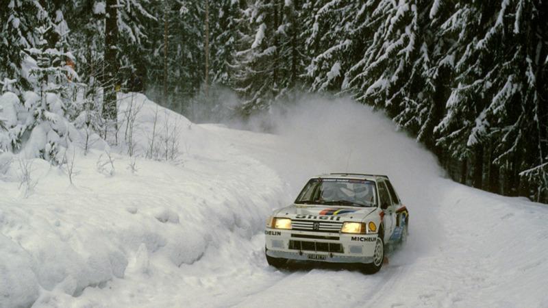 Foto Exteriores Peugeot 205 T16 Grupo B Dos Volumenes 1985