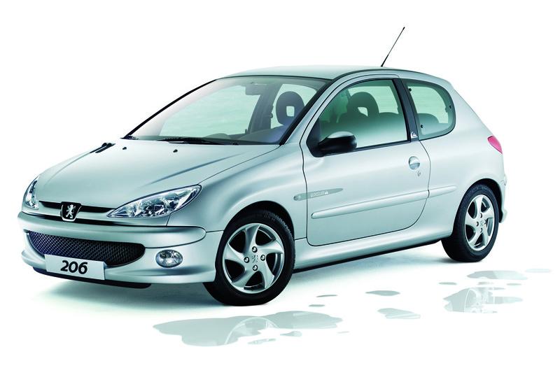 Foto Delantero Peugeot 206 Dos Volumenes 2006