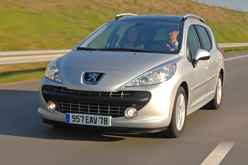 Foto Delantero Peugeot 207 Familiar 2007