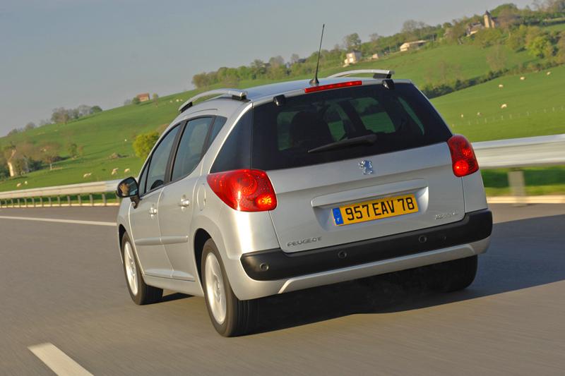Foto Trasero Peugeot 207 Familiar 2007