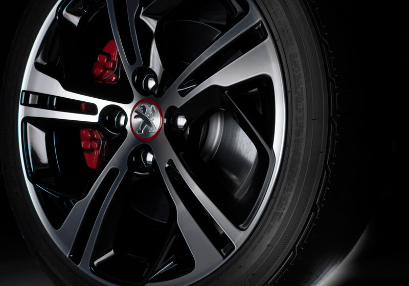 Foto Detalles Peugeot 208 Gti Dos Volumenes 2012