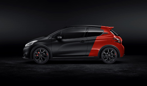 Foto Lateral Peugeot 208-gti-30th Dos Volumenes 2014