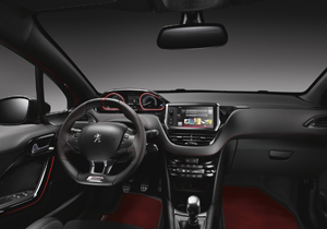 Foto Salpicadero Peugeot 208-gti-30th Dos Volumenes 2014