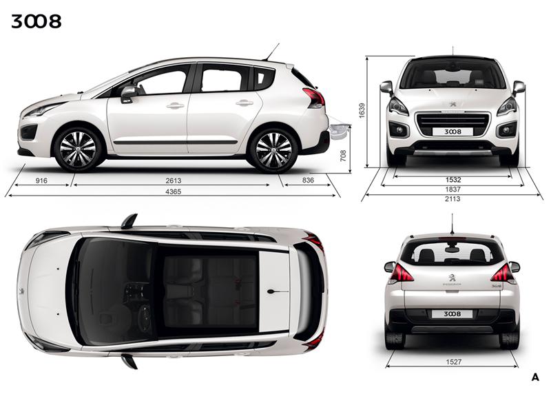 Foto Tecnicas (1) Peugeot 3008 Monovolumen 2014