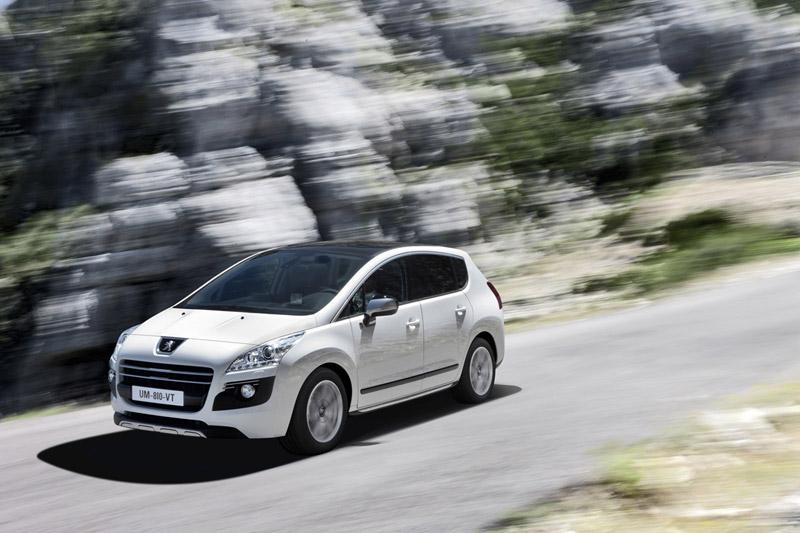 Foto Exteriores Peugeot 3008 Hybrid4 Monovolumen 2011