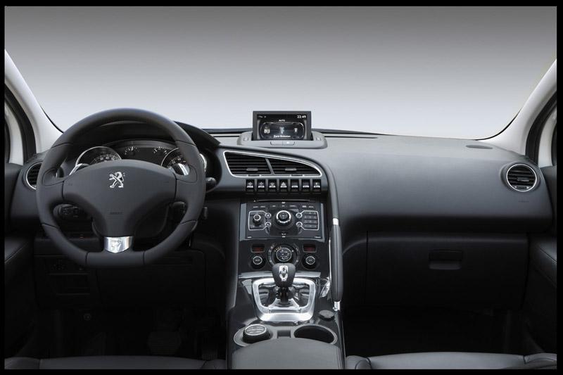 Peugeot 3008 Hybrid4 salpicadero