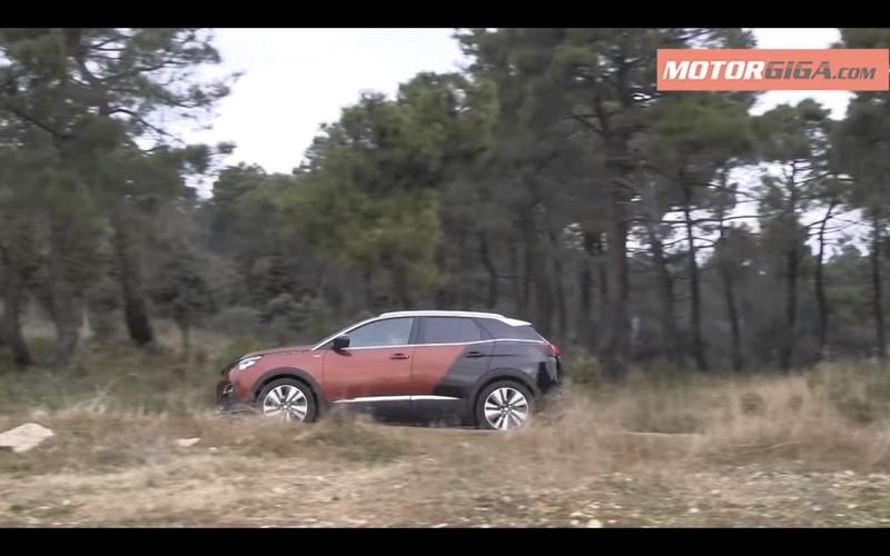 Peugeot 3008 2017 perfil