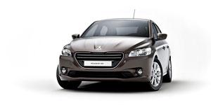 Foto Frontal Peugeot 301 Sedan 2012