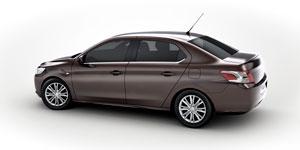 Foto Perfil Peugeot 301 Sedan 2012