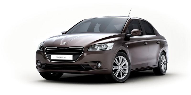 Foto Delantera Peugeot 301 Sedan 2012