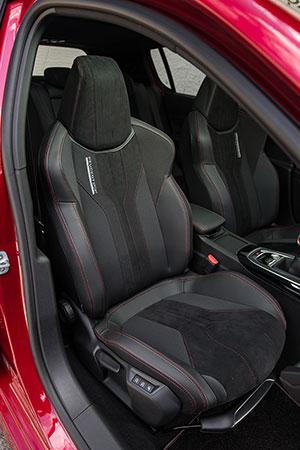galeria de fotos peugeot 308-GTI 2015 - interiores