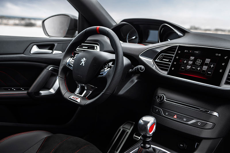 Salpicadero 308 GTI