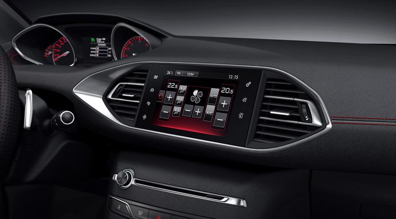 Foto Interior Peugeot 308 Gt Dos Volumenes 2014