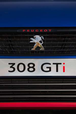 Foto Detalles 14 Peugeot 308-gti Dos Volumenes 2017
