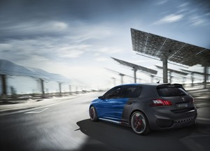 Foto Trasera Peugeot 308-r-hybrid Concept 2015