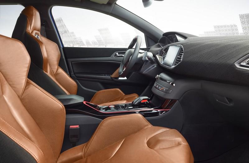 Foto Interiores Peugeot 308 R Hybrid Concept 2015