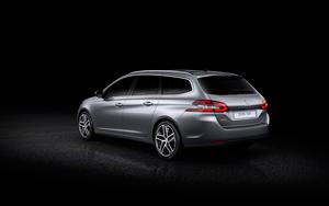 Foto Trasera Peugeot 308-sw Familiar 2014